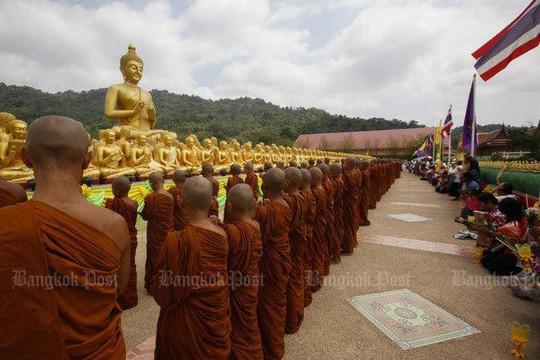 Thái Lan điều tra toàn quốc tội phạm đội lốt nhà sư - Ảnh 1.