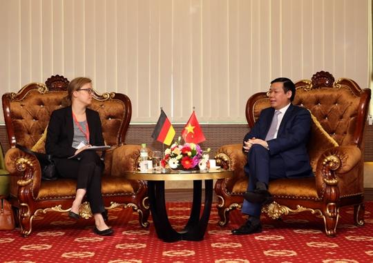 Đại sứ quán Đức khẳng định hợp tác với Việt Nam - Ảnh 2.
