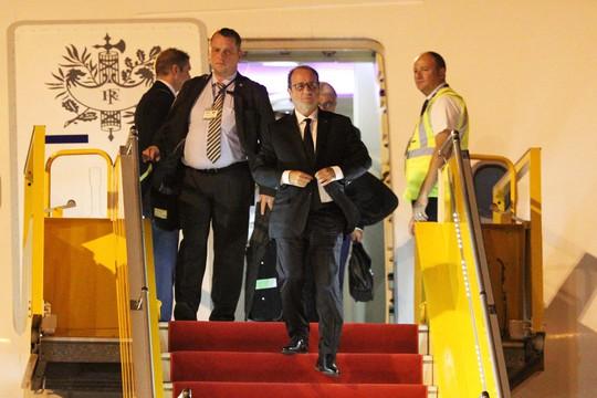 Ông Hollande dành ngày 6 và 7-9 để đến thăm TP HCM