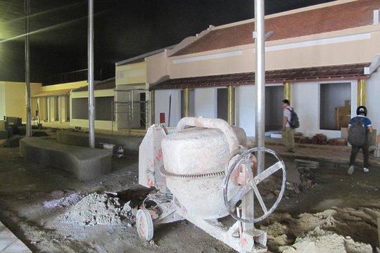 Bên trrong công trình xây dựng trái phép ở phường Hòa Xuân