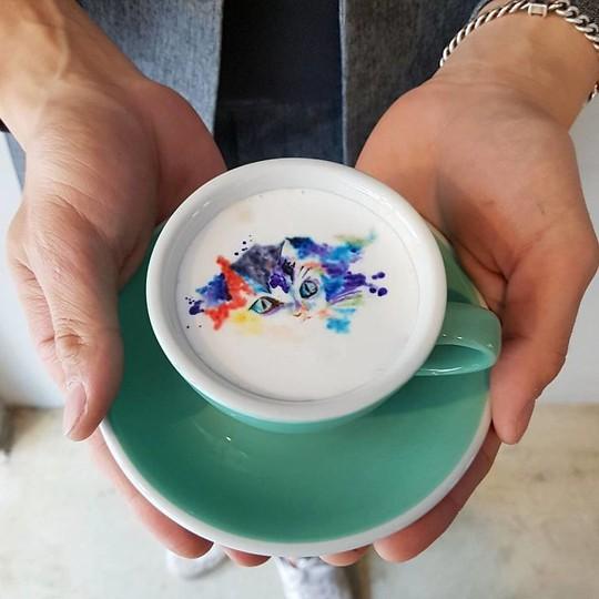 Những tách cà phê đẹp đến mức không ai nỡ uống - Ảnh 11.
