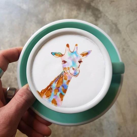 Những tách cà phê đẹp đến mức không ai nỡ uống - Ảnh 8.