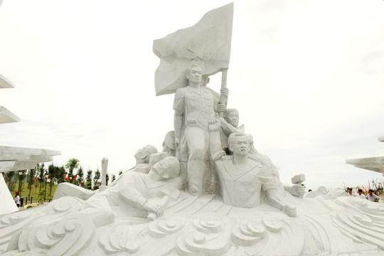 Chiêm ngưỡng Khu tưởng niệm Gạc Ma từ trên không - Ảnh 14.
