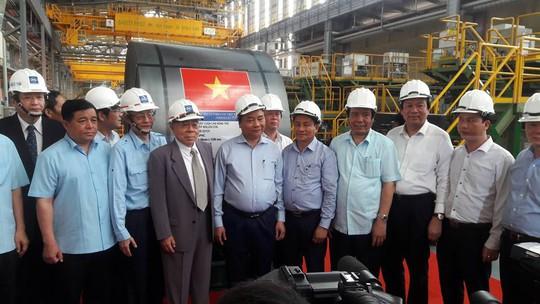 Thủ tướng Nguyễn Xuân Phú thị sát tại Formosa - Ảnh 5.