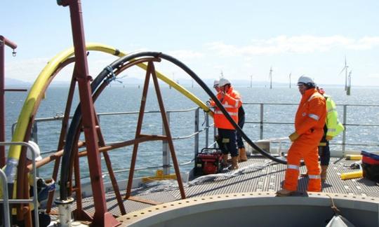 Phải sang tháng 4 các tuyến cáp quang biển mới sửa chữa xong. Ảnh: AAG.