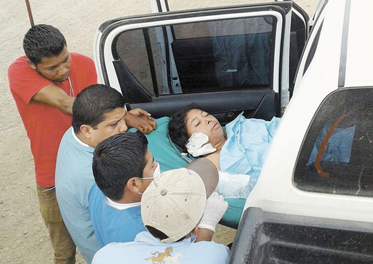 Cô Vilma Trujillo Garcia bị thiêu chết hôm 28-2. Ảnh: La Prensa