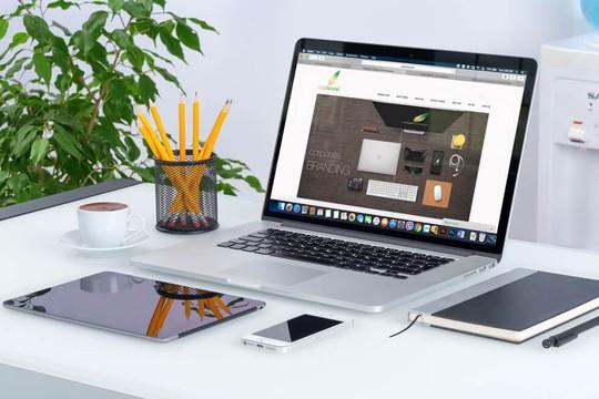 Ngày nay việc doanh nghiệp thiết lập một website là rất dễ dàng. Ảnh: MSN