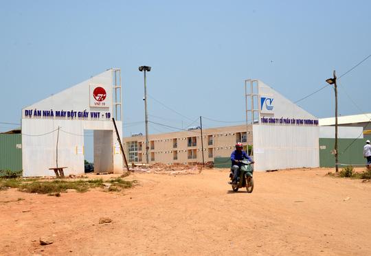 Dự án Nhà máy Bột giấy VNT-19 tại xã Bình Phước, huyện Bình Sơn, tỉnh Quảng Ngãi