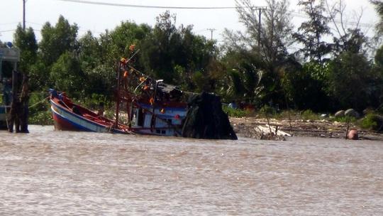 Chiếc tàu gặp tai nạn ngày 6-4