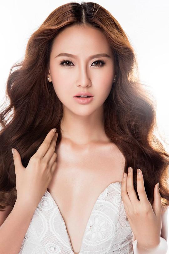 Vẻ đẹp không son phấn của Hoa hậu Hoàn cầu Khánh Ngân - Ảnh 1.