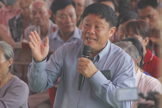 """Ông Bùi Xuân Thường: """"Không có vật chất, tinh thần nào có thể bù đắp được nỗi mất mát này"""""""