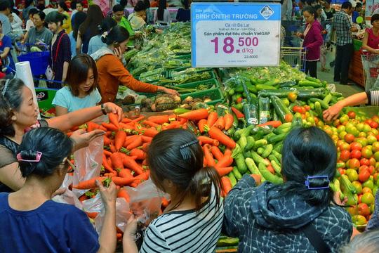 Chương trình bình ổn thị trường TP HCM hiện được thực hiện xuyên suốt cả năm Ảnh: Tấn Thạnh