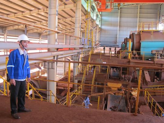 Nhà máy alumin Nhân Cơ - Ảnh: THẾ DŨNG
