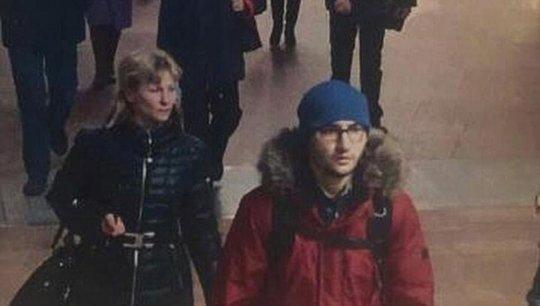 Hình ảnh nghi phạm Akbarzhon Dzhalilov do camera an ninh ghi lại Ảnh: Daily Mail