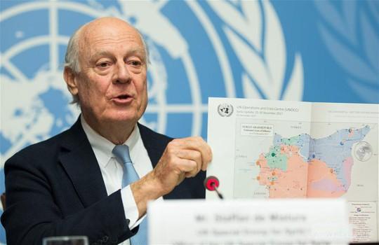 Điềm báo từ tấm bản đồ Syria - Ảnh 1.