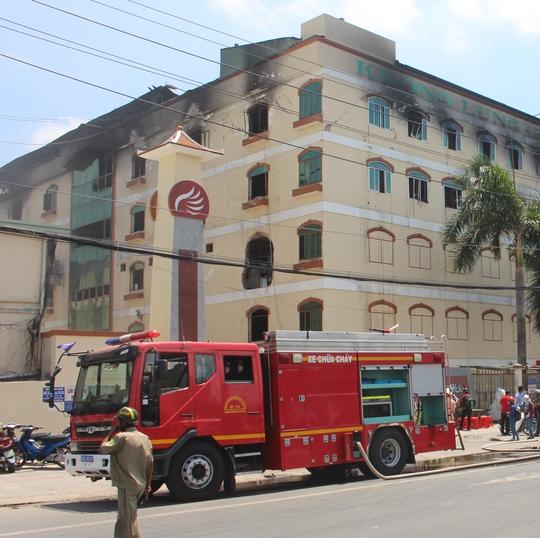 Công ty TNHH Kwong Lung-Meko lại bị cháy vào ngày 16-4