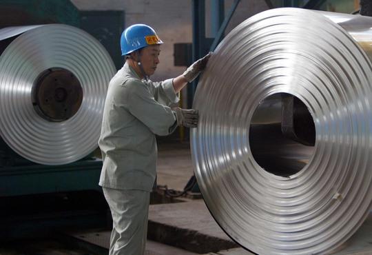 Trung Quốc bị tố là bên bán phá giá thép chủ yếu ở Mỹ Ảnh: REUTERS