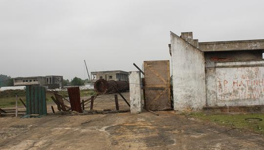 Nhiều dự án kinh tế tại Khu Kinh tế Vũng Áng, tỉnh Hà Tĩnh bị bỏ hoang Ảnh: ĐỨC NGỌC
