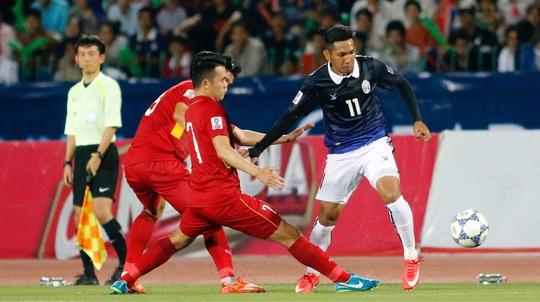 Campuchia - Việt Nam 1-2: Thắng mà bực như thua - Ảnh 1.