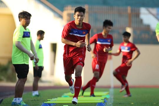 Cuộc cạnh tranh suất dự World Cup U20 trong nội bộ tuyển U20 Việt Nam sẽ khốc liệt hơn trong chuyến tập huấn 12 ngày tại ĐứcẢnh: Quang Liêm
