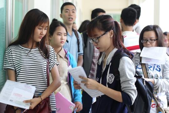 Các trường ĐH phải công khai chất lượng giáo dục trong đề án tuyển sinh Ảnh: Hoàng Triều