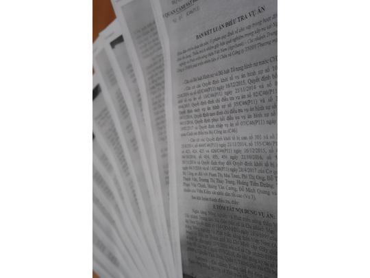 Vụ Agribank Chi nhánh Trung tâm Sài Gòn: Đề nghị truy tố 9 bị can - Ảnh 1.