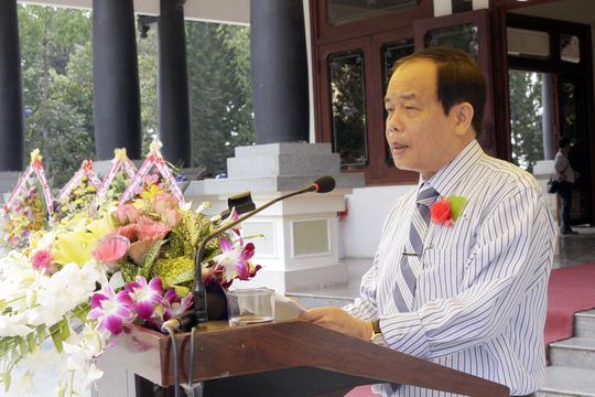 Ông Vương Bình Thạnh, Chủ tịch UBND tỉnh An Giang, phát biểu tại buổi lễ
