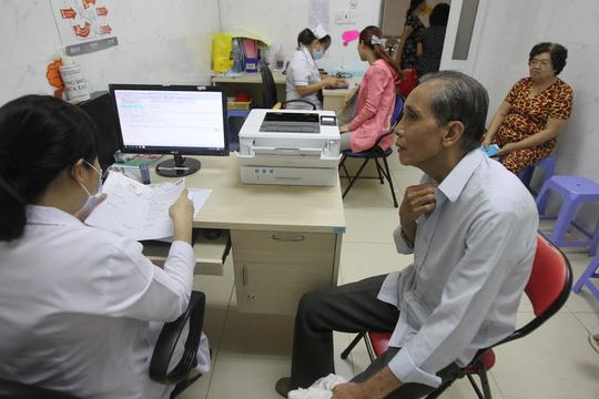Trích chuyển dữ liệu thanh toán chi phí khám chữa bệnh BHYT - Ảnh 1.