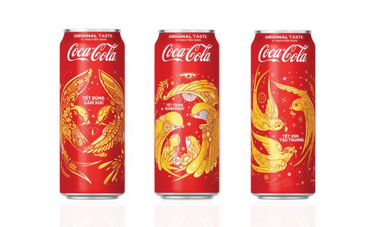 Coca-Cola tung 3 mẫu bao bì độc đáo chào đón tết 2018 - Ảnh 1.