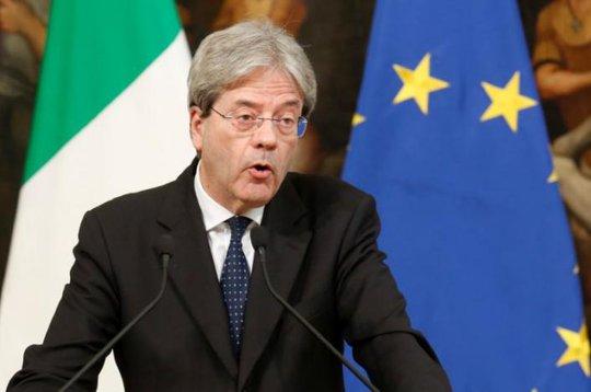 """Thủ tướng Ý Paolo Gentiloni là lãnh đạo duy nhất thuộc G7 sẽ tham dự hội nghị về chiến lược """"Một vành đai, Một con đường"""" của Trung Quốc Ảnh: REUTERS"""