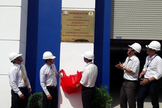 EVN HCMC gắn biển 2 công trình điện - Ảnh 1.