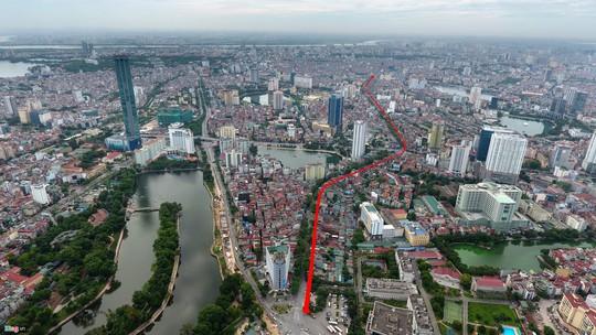 Hà Nội thêm con đường đắt nhất hành tinh, đầu tư 7.779 tỉ đồng - Ảnh 1.