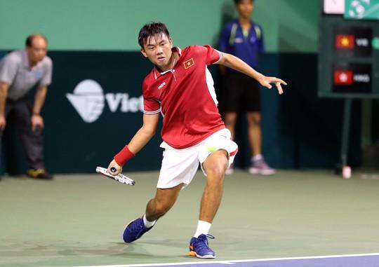 Lý Hoàng Nam xuất sắc vào bán kết Vietnam F2 Futures - Ảnh 1.