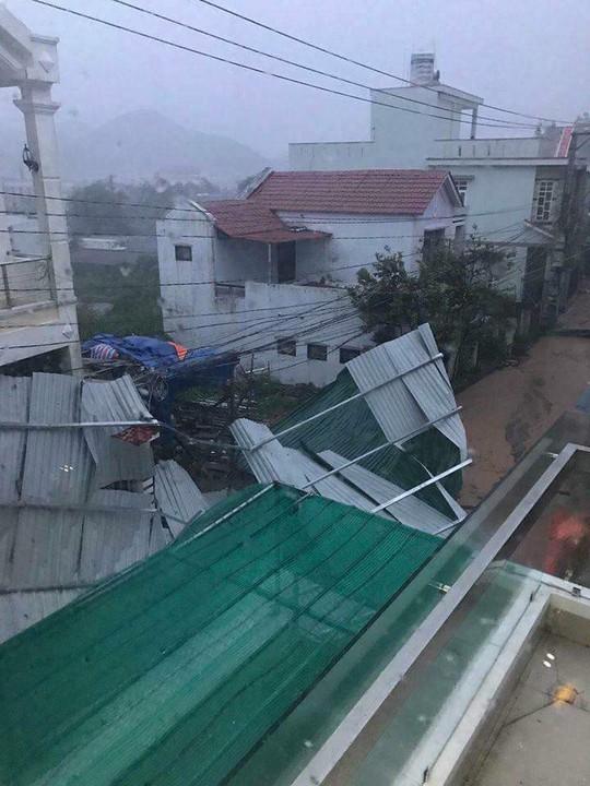 Từ Bình Định đến Đà Nẵng: Cây ngã la liệt, nhiều khu vực bị lũ chia cắt - Ảnh 2.