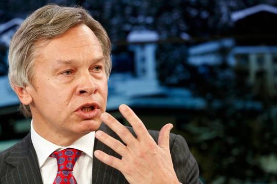 Ông Alexey Pushkov. Ảnh: Reuters