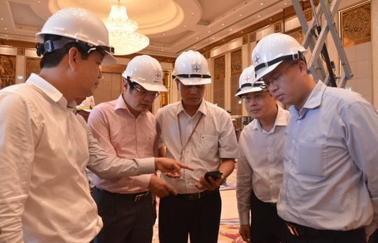 Diễn tập lần cuối công tác đảm bảo điện phục vụ APEC - Ảnh 1.