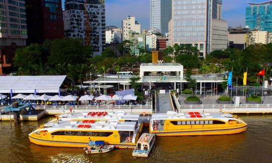 Buýt đường sông đã chính thức vận hành - Ảnh 4.