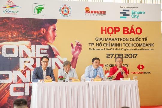 Giải Marathon Quốc tế Thành phố Hồ Chí Minh Techcombank 2017 - Ảnh 1.