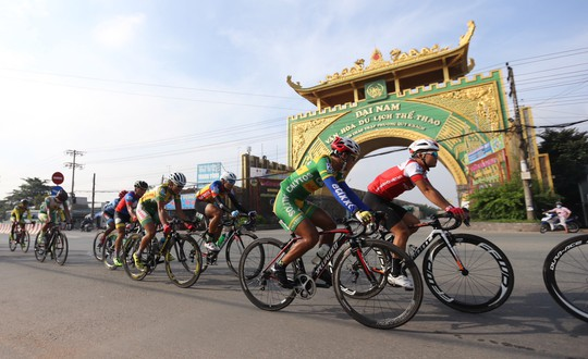 Cuộc đua Nam Kỳ Khởi Nghĩa: Lê Nguyệt Minh lập cú đúp - Ảnh 1.