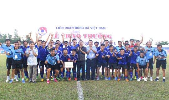 Đội Hạng nhì PVF vô địch giải Hạng nhì Quốc gia năm 2016