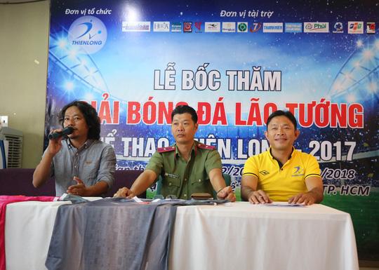 Ngày hội lớn cho hơn 100 lão tướng bóng đá TP HCM - Ảnh 2.