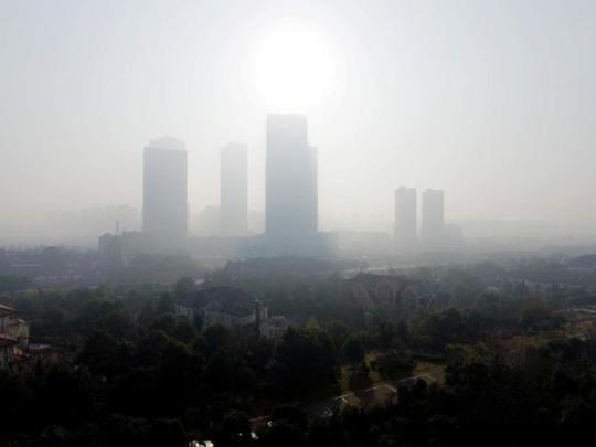 TP Nam Kinh, tỉnh Giang Tô ngày 31-12. Ảnh: Reuters
