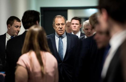 Ông Sergei Lavrov. Ảnh: Reuters