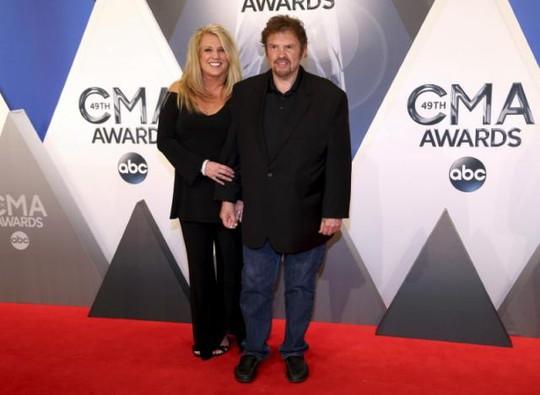 Jeff Cook và vợ