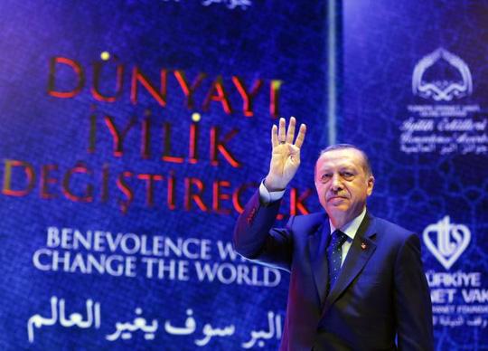 Tổng thống Thổ Nhĩ Kỳ Tayyip Erdogan. Ảnh: REUTERS
