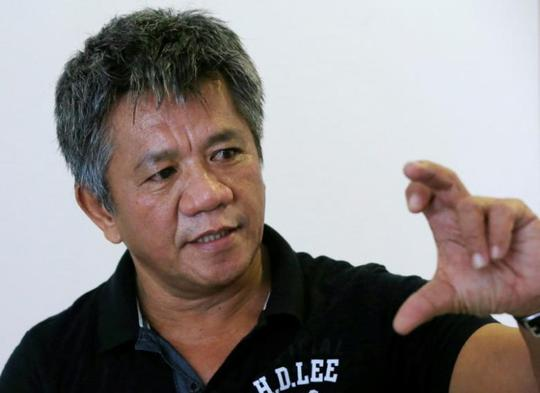 """Ông Edgar Matobato, người tự nhận là sát thủ trong """"biệt đội tử thần"""" của Tổng thống Rodrigo Duterte. Ảnh: Reuters"""
