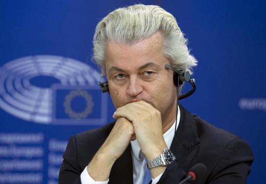"""Ông Wilders từng cam kết biến Hà Lan thành một quốc gia """"không Hồi giáo"""" và rút khỏi Liên minh châu Âu. Ảnh: Reuters"""