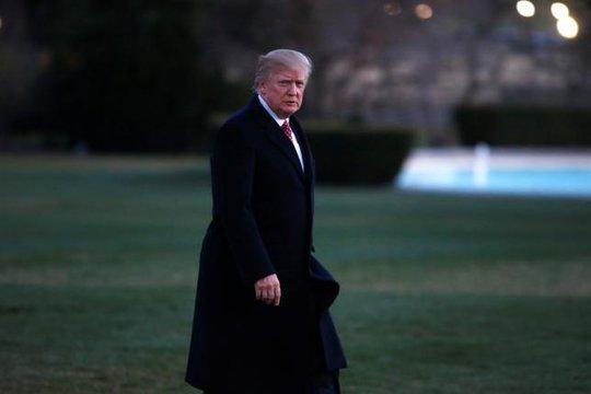 Tổng thống Donald Trump kiên quyết giữ nguyên cáo buộc nghe lén đối với chính quyền ông Obama. Ảnh: REUTERS