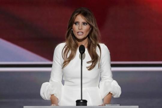 Đệ nhất phu nhân Melania Trump. Ảnh: REUTERS