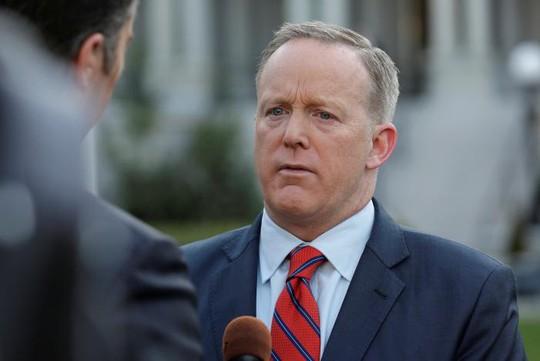 Phát ngôn viên Nhà Trắng Sean Spicer. Ảnh: REUTERS